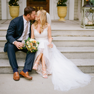 Lauren & Jimmy: Fall Nashville Garden Wedding