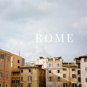 The Cherry Trek: Rome