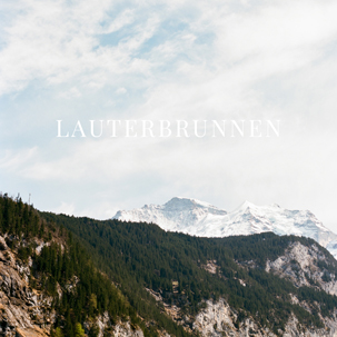 The Cherry Trek: Lauterbrunnen, Switzerland