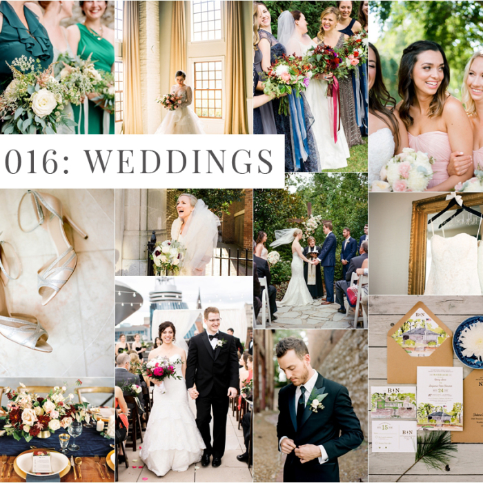 2016 in Photographs: Weddings