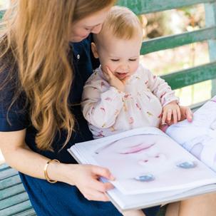 Emmaline: Baby's First Year Heirloom Book