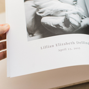 Lilly Beth: Heirloom Book for Baby's First Year